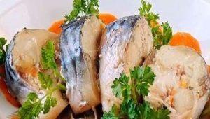 Рецепты блюд из свежемороженой скумбрии