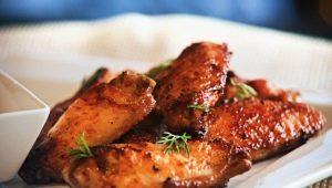 Рецепты приготовления крыльев индейки