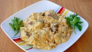 Рецепты приготовления куриной печени в сметане