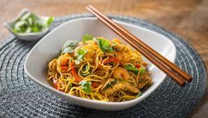 Рецепты приготовления лапши-вок с морепродуктами