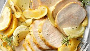 Рецепты приготовления жареной свинины с луком на сковороде