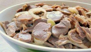 Рецепты приготовления желудков индейки