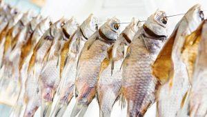 Сушеная рыба: виды, калорийность, свойства и хранение
