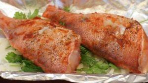Свойства и рецепты приготовления морского окуня в фольге