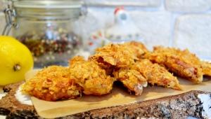 Как приготовить курицу в чипсах?