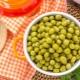 Польза и вред консервированного зеленого горошка