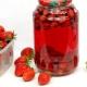Рецепты приготовления вкусного компота из земляники на зиму