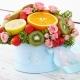 Букеты из фруктов в коробках: советы по изготовлению и красивые примеры
