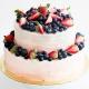 Как красиво украсить торт ягодами и фруктами?