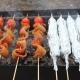 Как правильно готовить кальмаров на мангале?