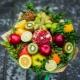 Букеты из фруктов: разновидности, правила изготовления и оригинальные примеры