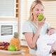 Что можно есть после родов в первый месяц при грудном вскармливании?