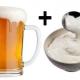 Для чего пьют пиво со сметаной?