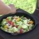 Готовим овощи в казане