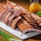 Рецепты копченых свиных ребер