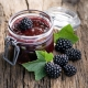 Рецепты варенья из ежевики с цельными ягодами