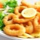 Рекомендации по приготовлению кальмаров в панировке