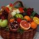 Способы оформления фруктовых корзин