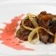 Жареная говяжья печень с луком: калорийность и рецепты приготовления