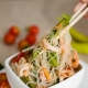 Фунчоза с морепродуктами: калорийность и способы приготовления