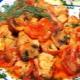 Готовим куриную грудку в томатном соусе