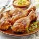 Как приготовить куриные голени с хрустящей корочкой в духовке?