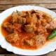Калорийность и рецепты приготовления тушеных куриных желудков
