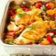 Куриная грудка с овощами в духовке: способы и тонкости приготовления