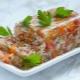 Заливное из индейки: рецепты приготовления и калорийность