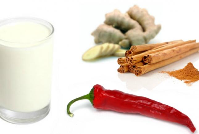 Кефирная диета с корицей и имбирем, лучший кефирно-имбирный.