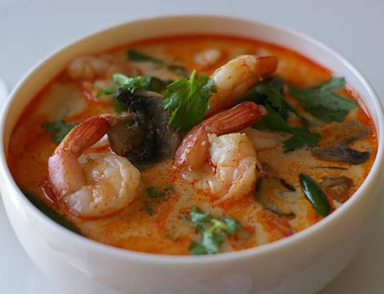 Тайский суп в домашних условиях