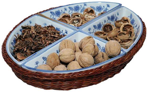 перегородки грецких орехов и геморрой