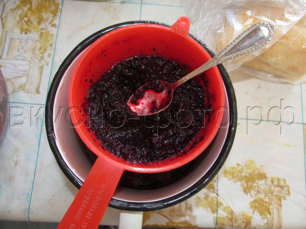 сироп из черной рябины рецепт