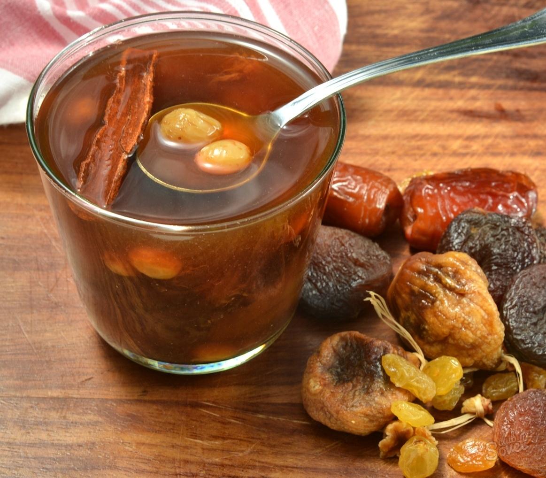 Как сварить компот из сухофруктов: рецепты с фото картинки