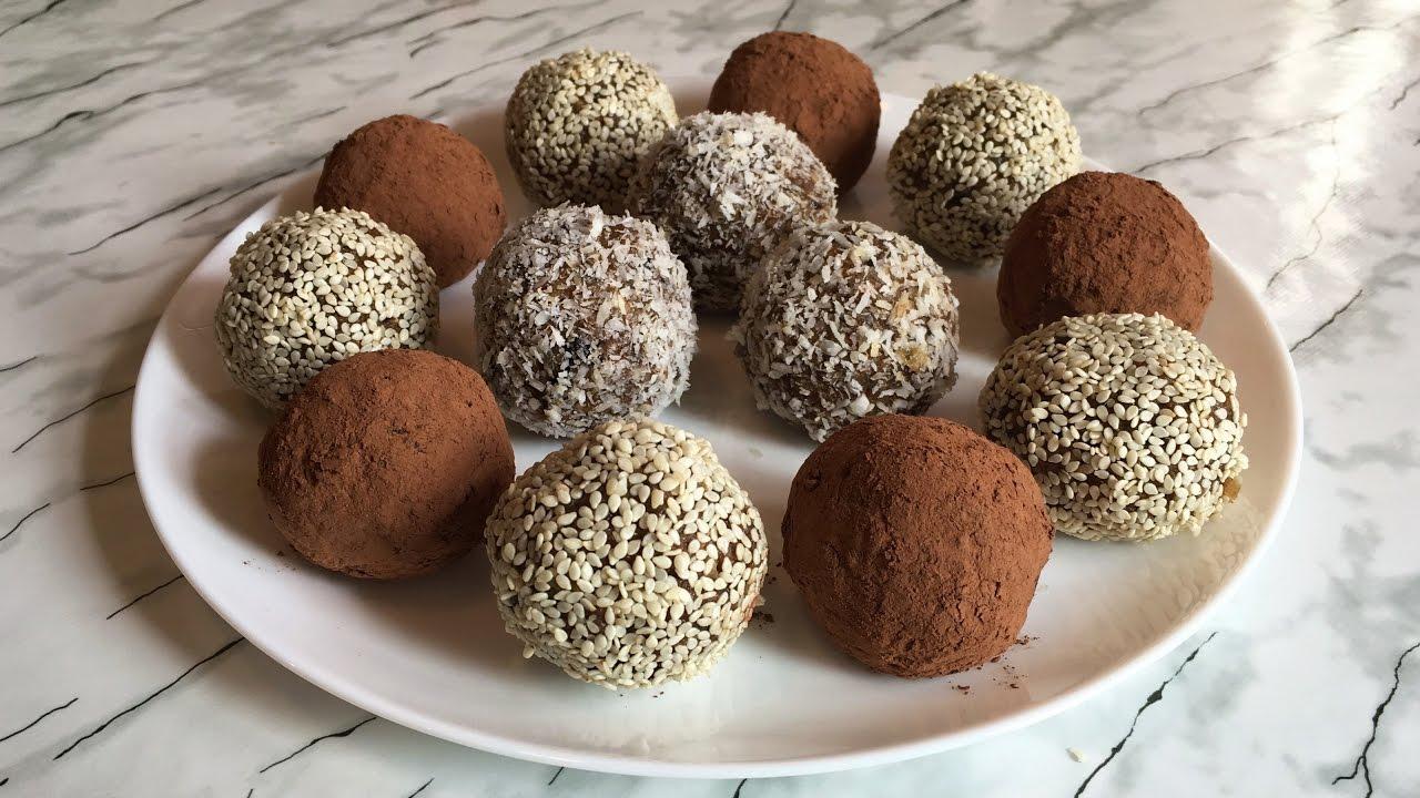 Приготовление конфет из сухофруктов