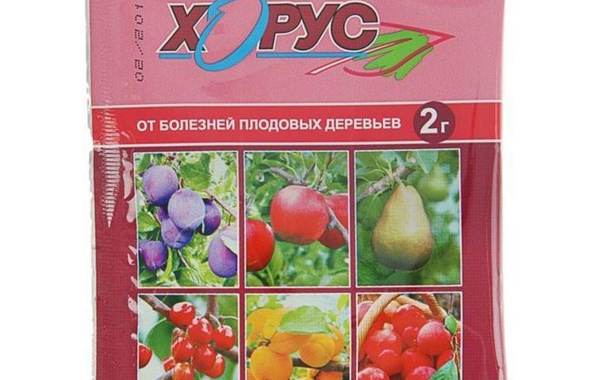 Фунгицид Хорус: инструкция по применению для плодовых деревьев, описание, отзывы