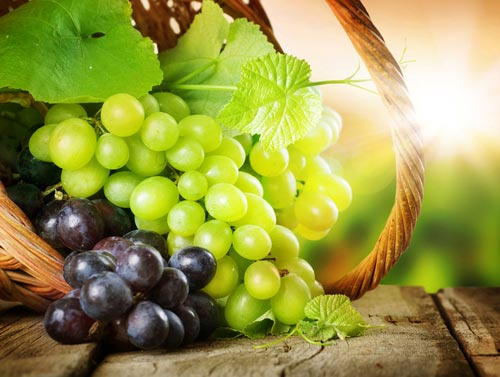 Ккал зеленого винограда
