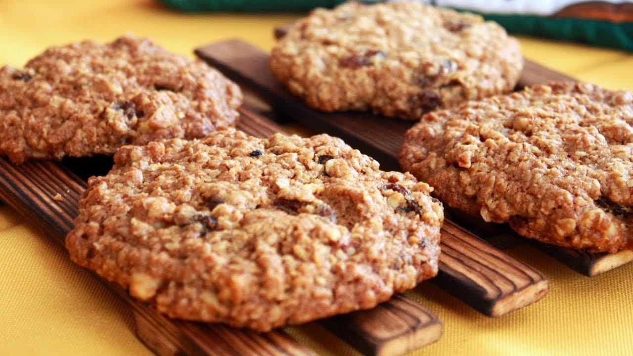 Печенье из овсяных хлопьев калорийность