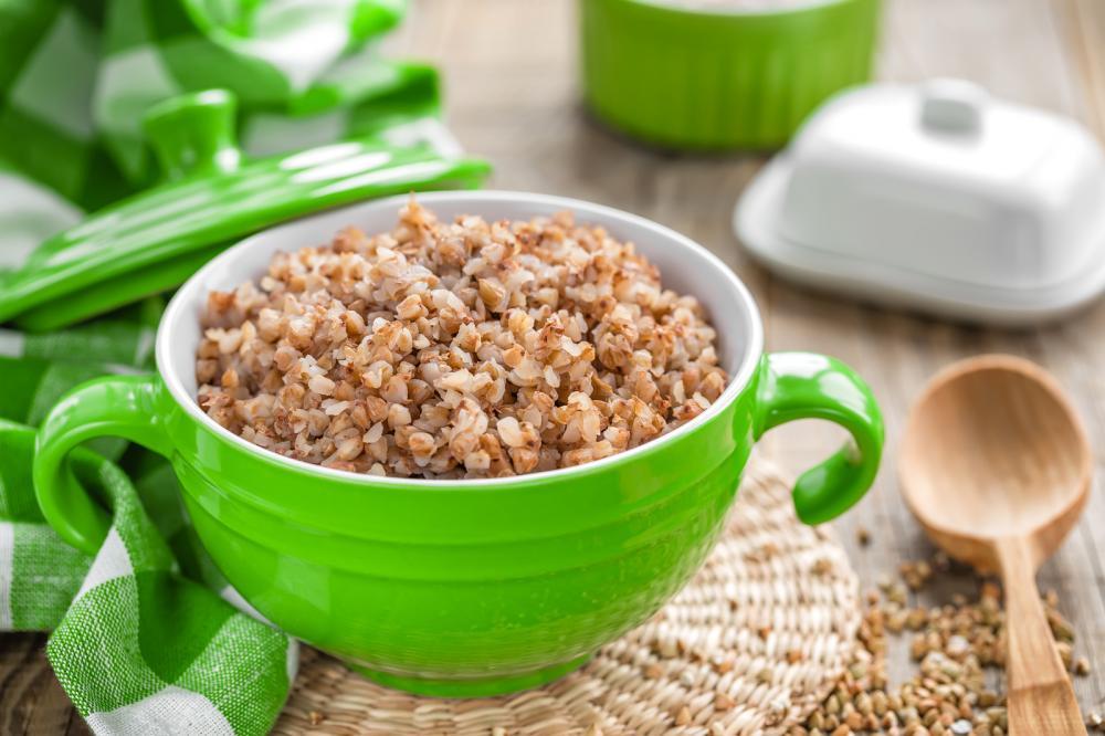 Калорийность гречки вареной на воде с солью на 100 гр. Как похудеть?