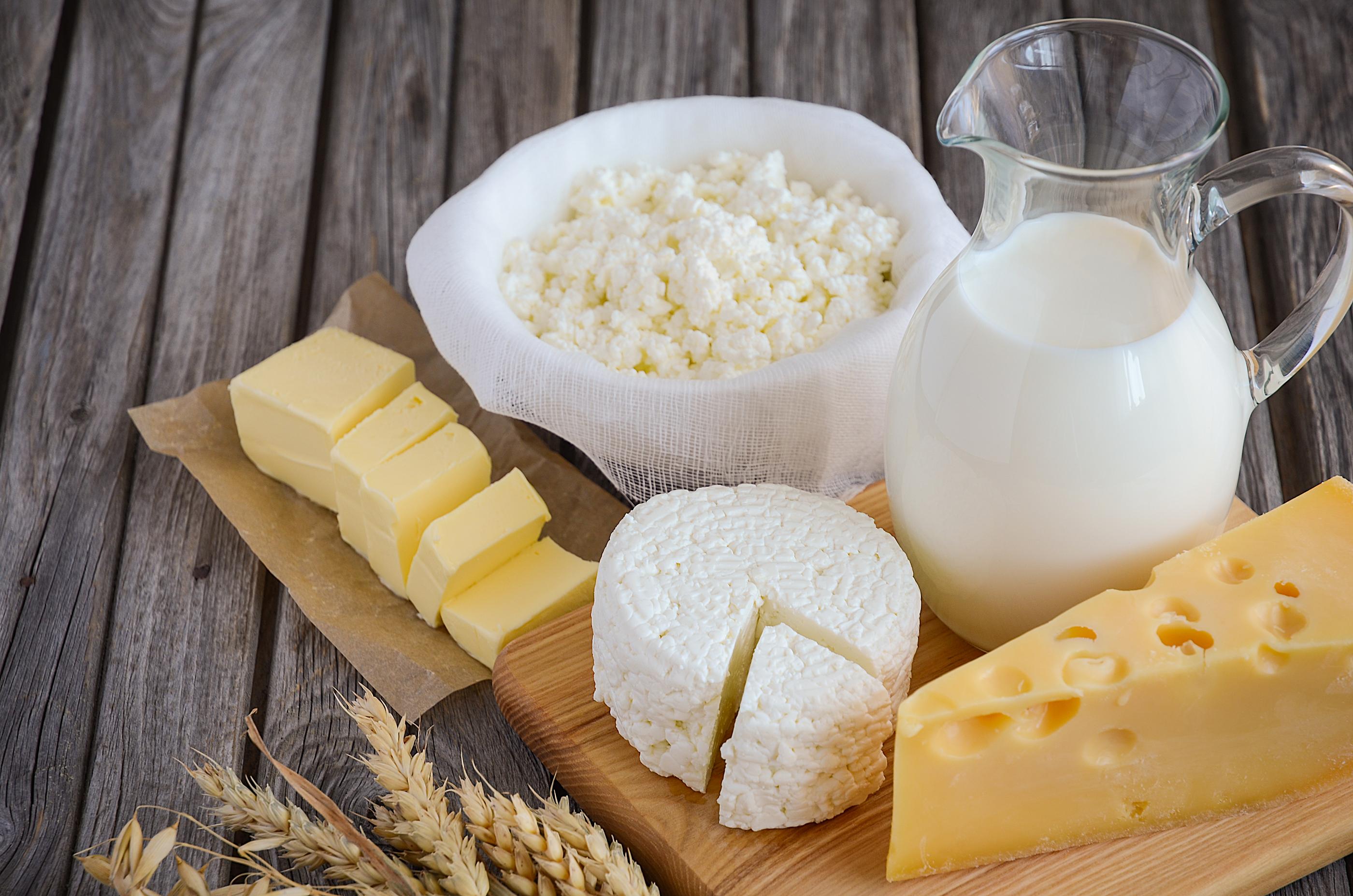 Картинки с молочной продукцией