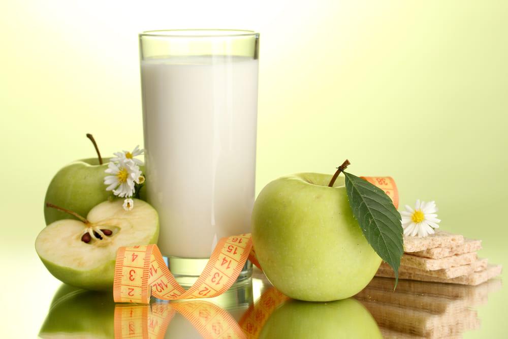 эффективная диета на яблоках и кефире