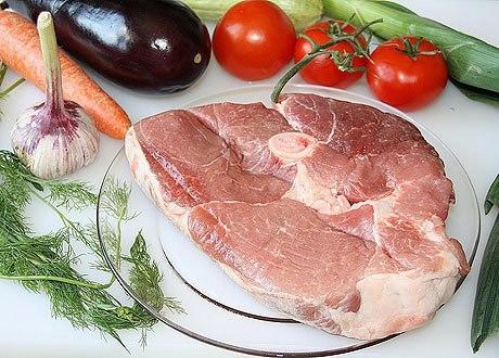 Свиной окорок в шкуре на кости рецепт — 7