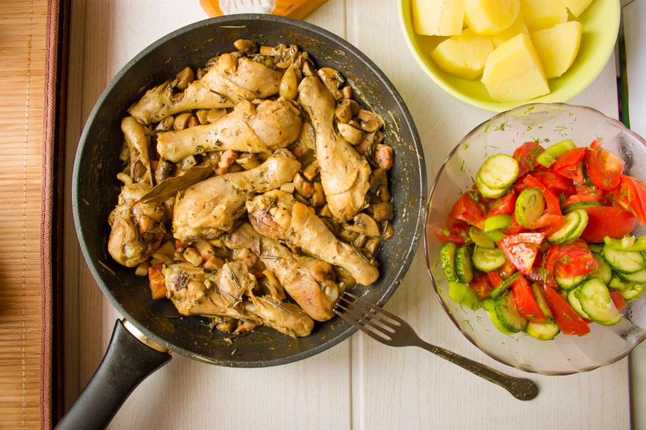 фрикасе из курицы рецепт с фото тому разнообразная цветовая