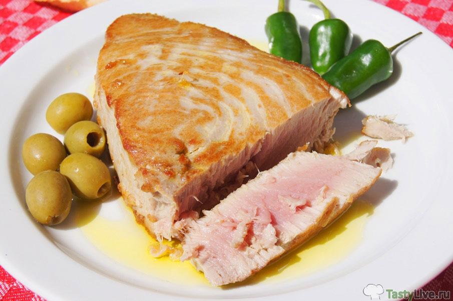 блюда из тунца замороженного рецепты с фото пугачёвой сделал