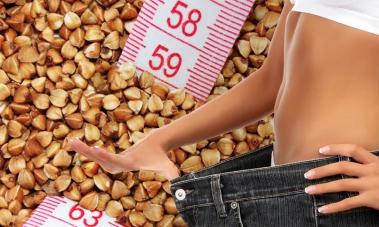 Кефир и гречка помогут похудеть.