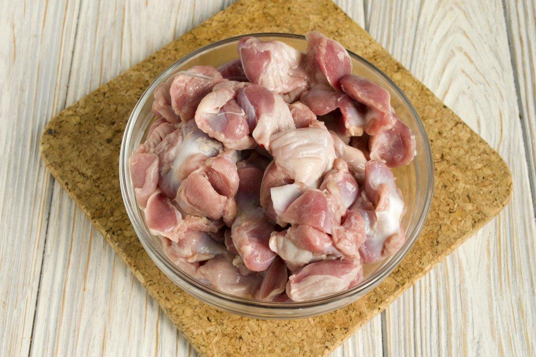 как почистить куриные желудочки перед приготовлением