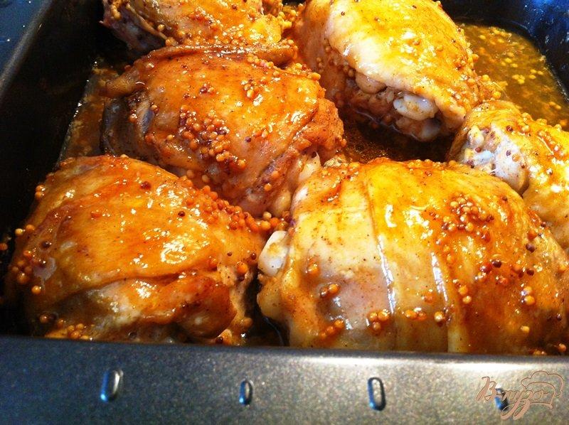 Сколько по времени запекать куриные бедрышки в духовке — pic 7