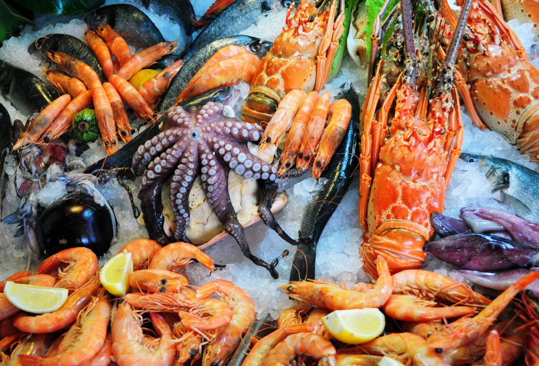 Морепродукты названия с фото