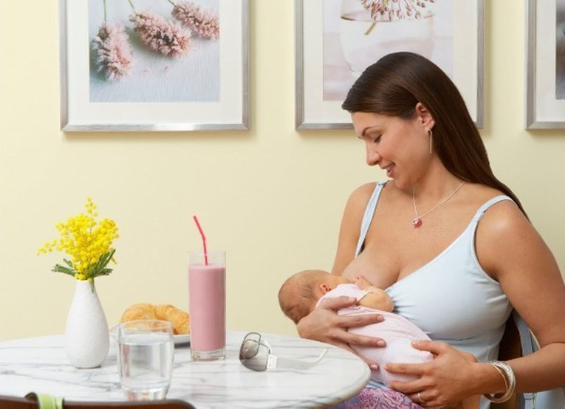 После перенесённого стресса родов хочется побаловать себя чем-то вкусным.