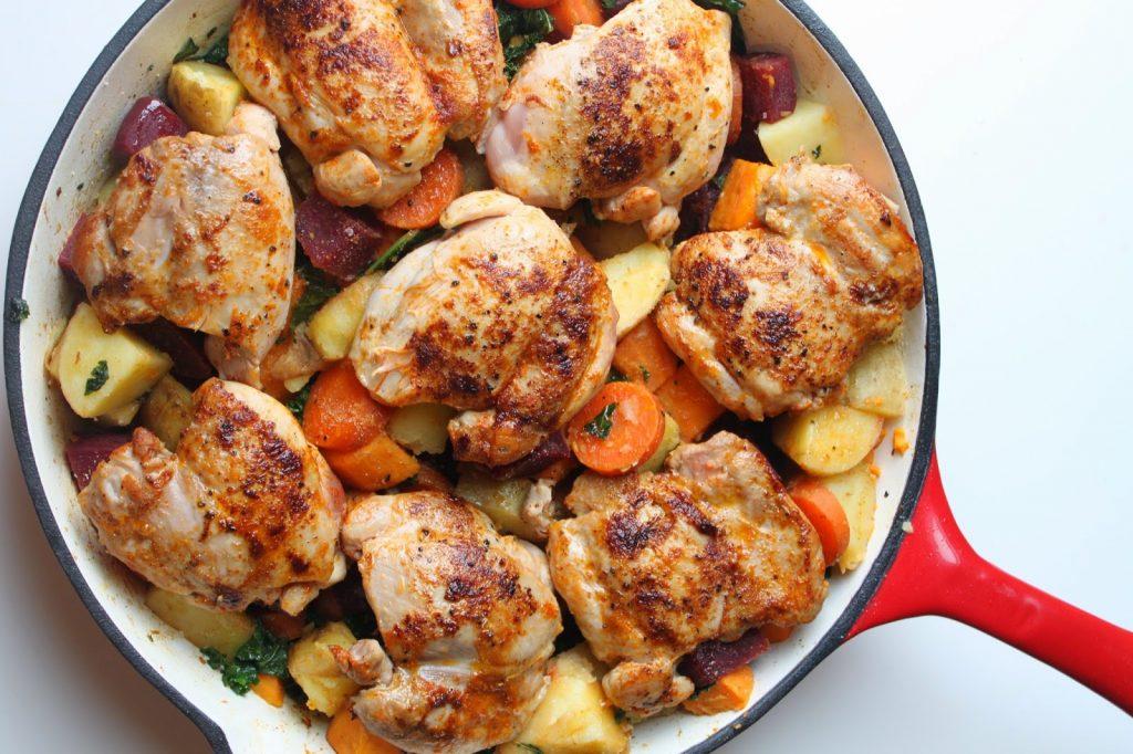 рецепты приготовления блюд из курицы с фото